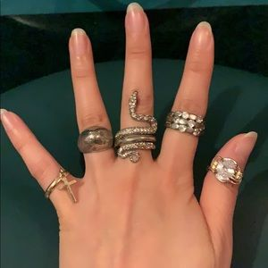 Rings/FREE Gift with purchase